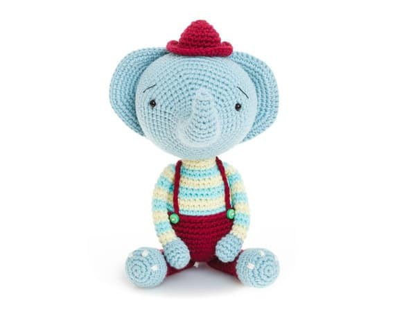 Berni the Amigurumi Elephant