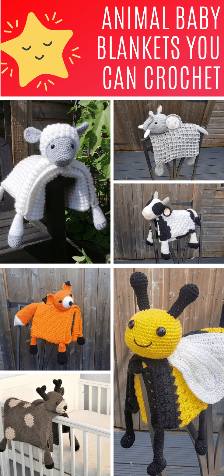 Loving these 3 in 1 animal crochet blankets - they make wonderful baby shower gifts and the crochet pattern is easy enough for a beginner to follow.