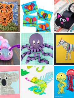 Cute Animal Crafts for Kids