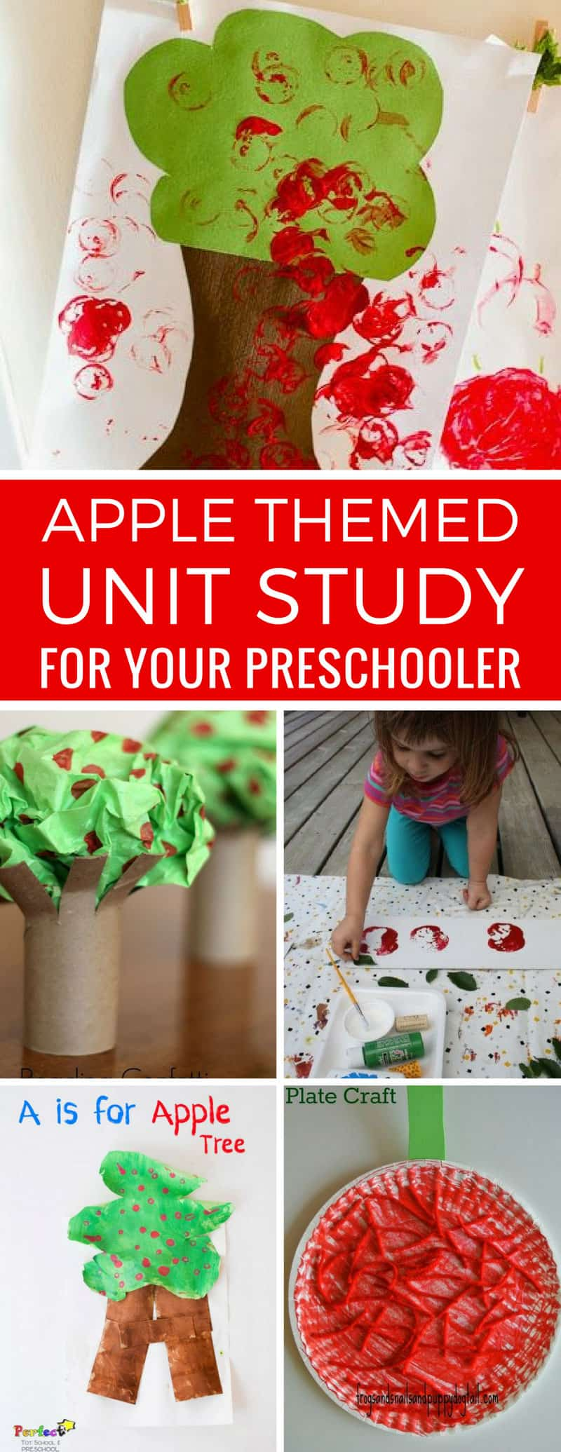 So many apple activities for preschoolers in this list - that's our Tot School curriculum sorted for a week or two! Thanks for sharing!