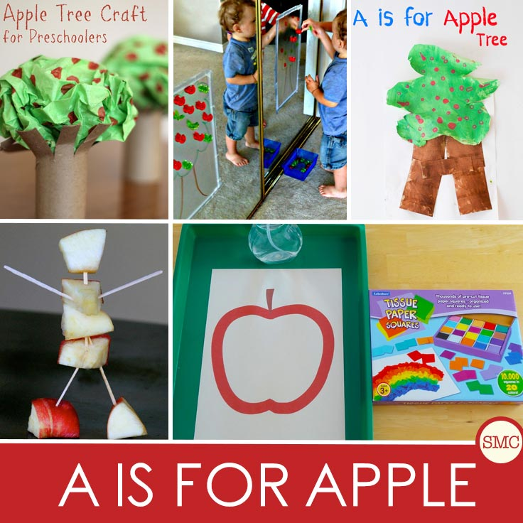 A wonderful mix of crafts, activities and snacks to help your child learn all about apples.