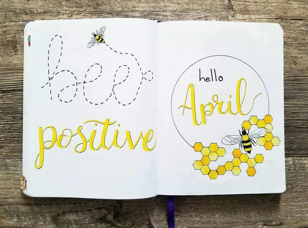 Hello April Bees and Pollen