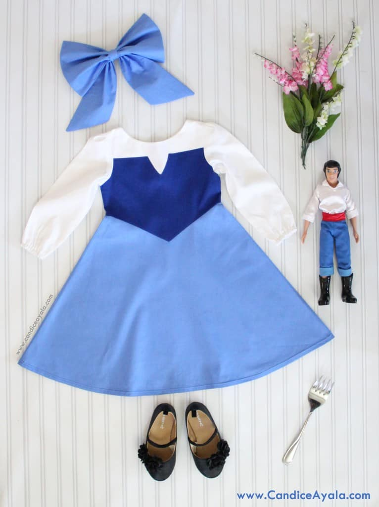 Ariel's Blue Play Dress