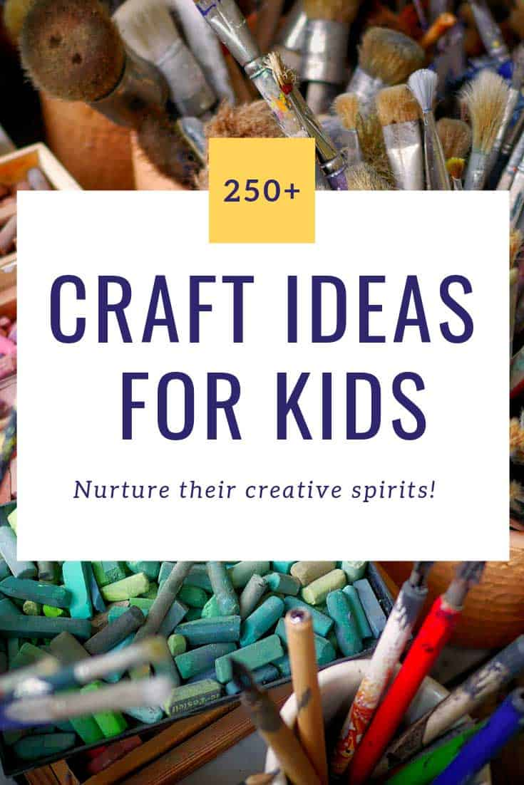 So many wonderful art and craft ideas for kids to get creative with!