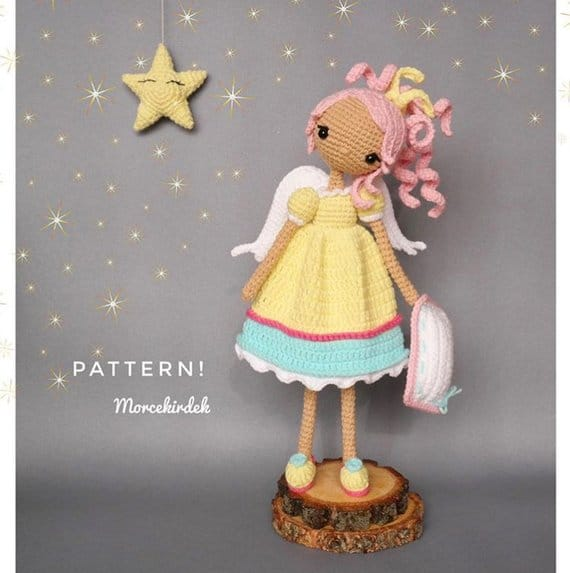 Aurora the Sleep Fairy Crochet pattern