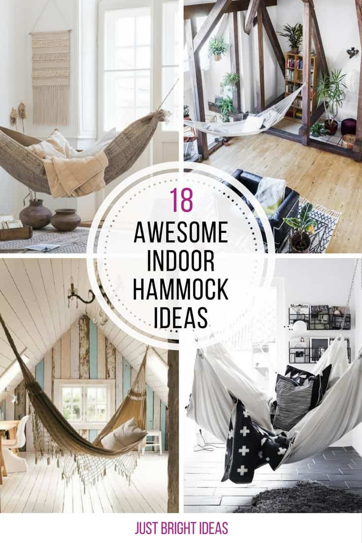 Loving these awesome indoor hammock ideas! Thanks for sharing!