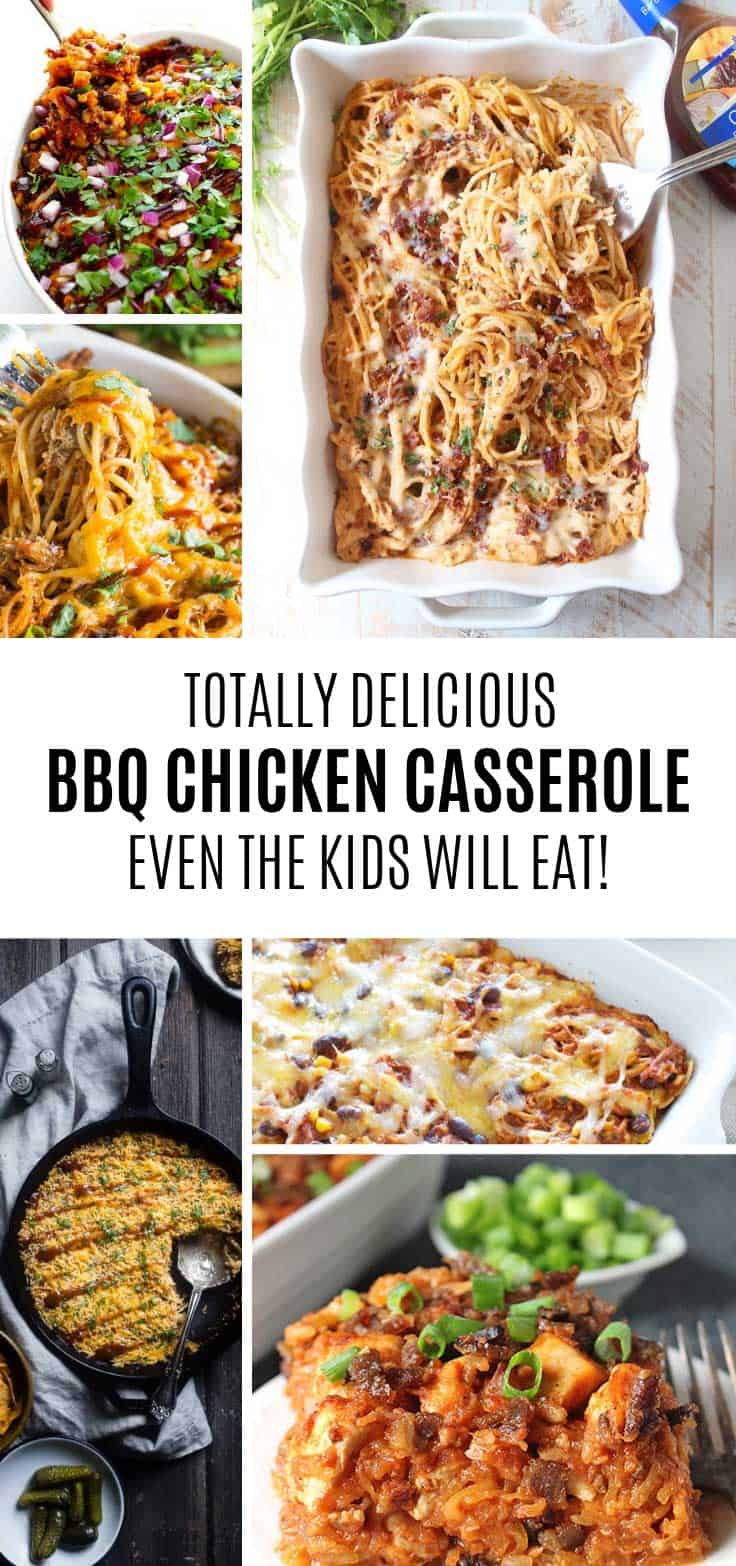 These BBQ chicken casserole recipes taste so GOOD!