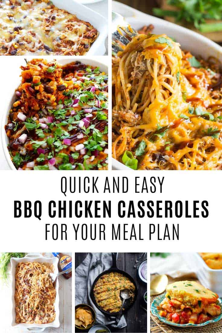 Yes! To quick and easy bb chicken casseroles!