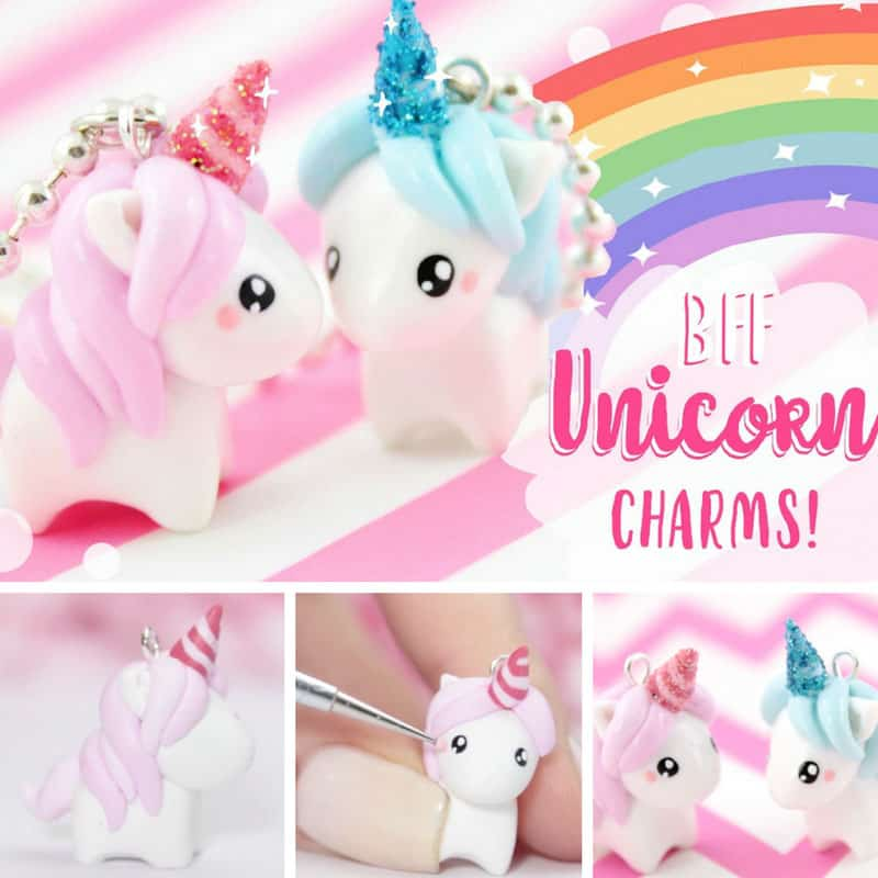 These unicorn charms are adorable!