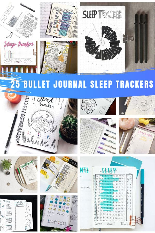 Loving these BUJO sleep tracker ideas for my bullet journal #bulletjournal