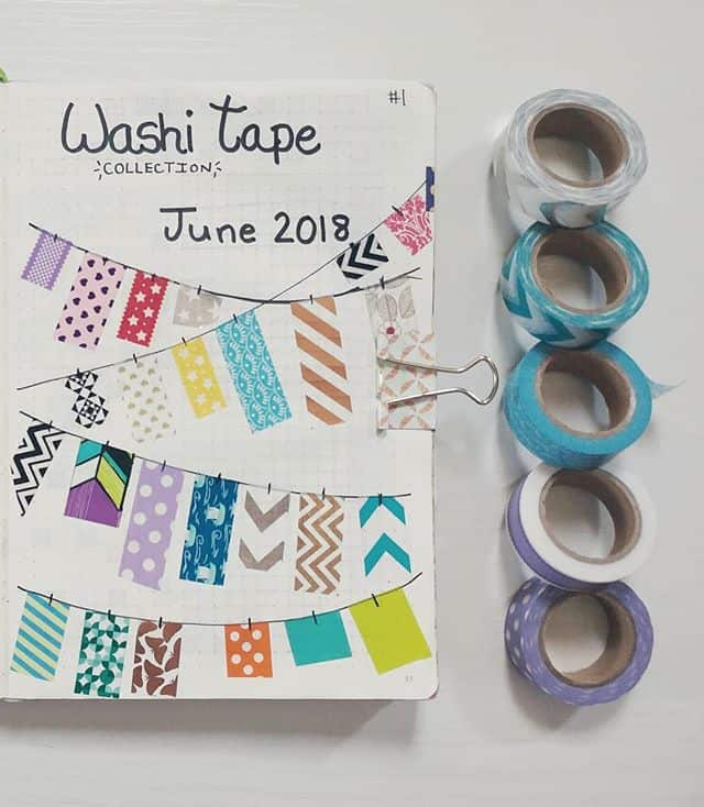 BUJO Washi Tape Collection