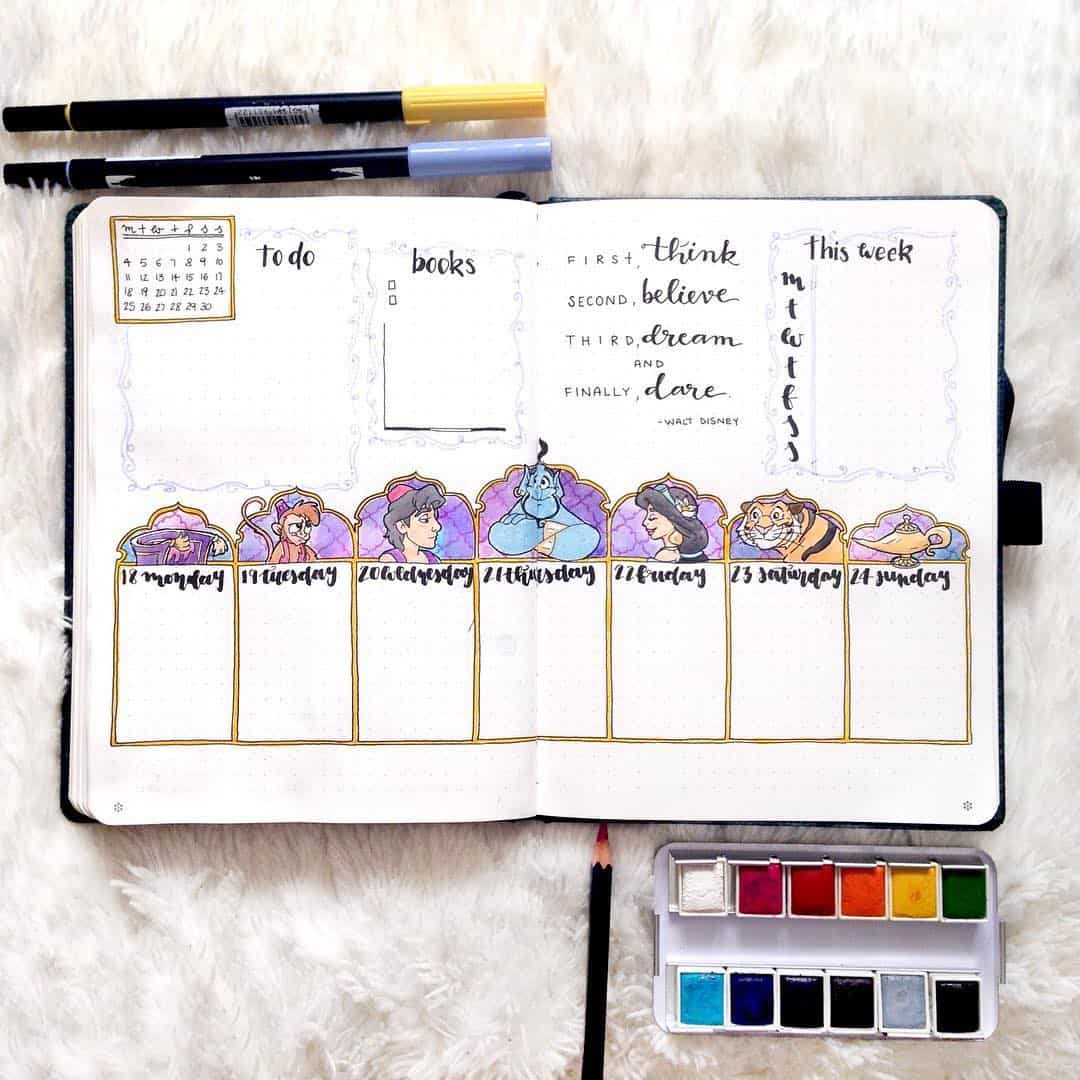 Aladdin Inspired Weekly