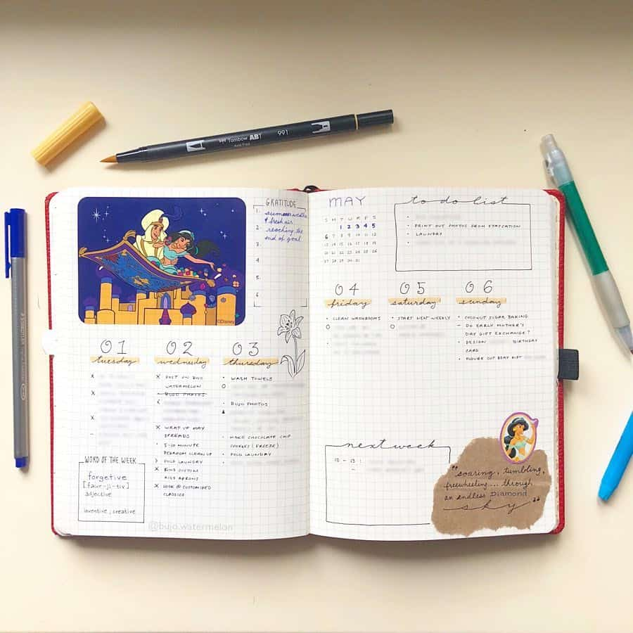 Aladdin Weekly with Stickers