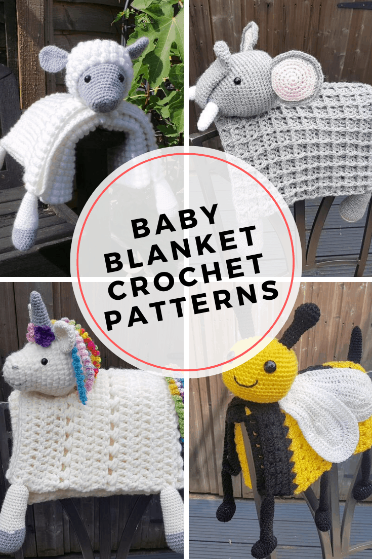 These animal baby blankets are adorable and make wonderful baby shower gifts. The crochet patterns are easy to follow and they look great in modern nurseries!