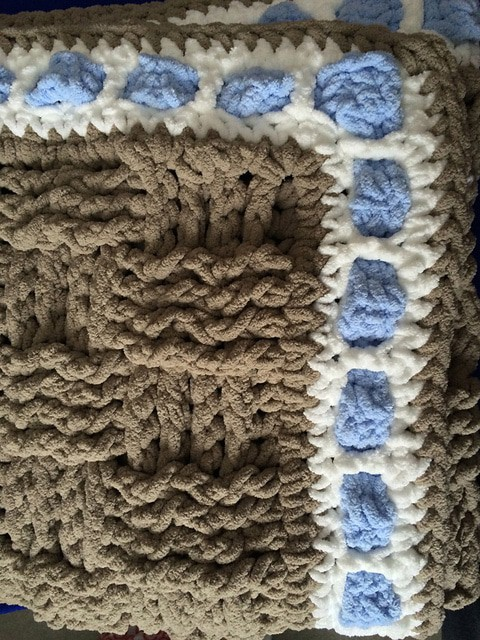 Baby Blanket for a Boy