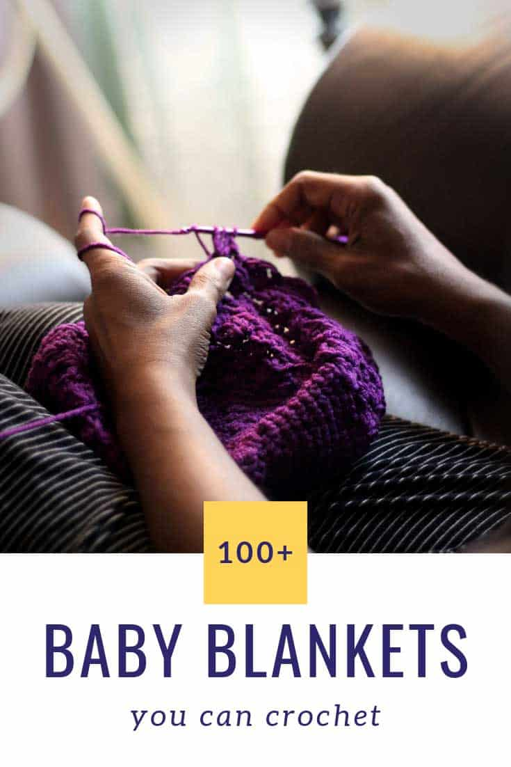 There are so many stunning baby blankets you can crochet here. Projects for boys and girls, rainbows and chevrons, cocoons and lovey blankets. Free and easy patterns to choose from!