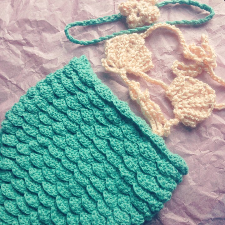 Baby Crochet Mermaid Pattern