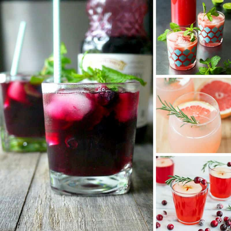 These baby shower mocktails taste great - and they're perfect for kid's parties too!
