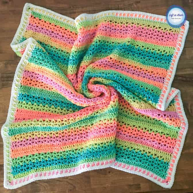 Baby Temperature Blanket Crochet Pattern