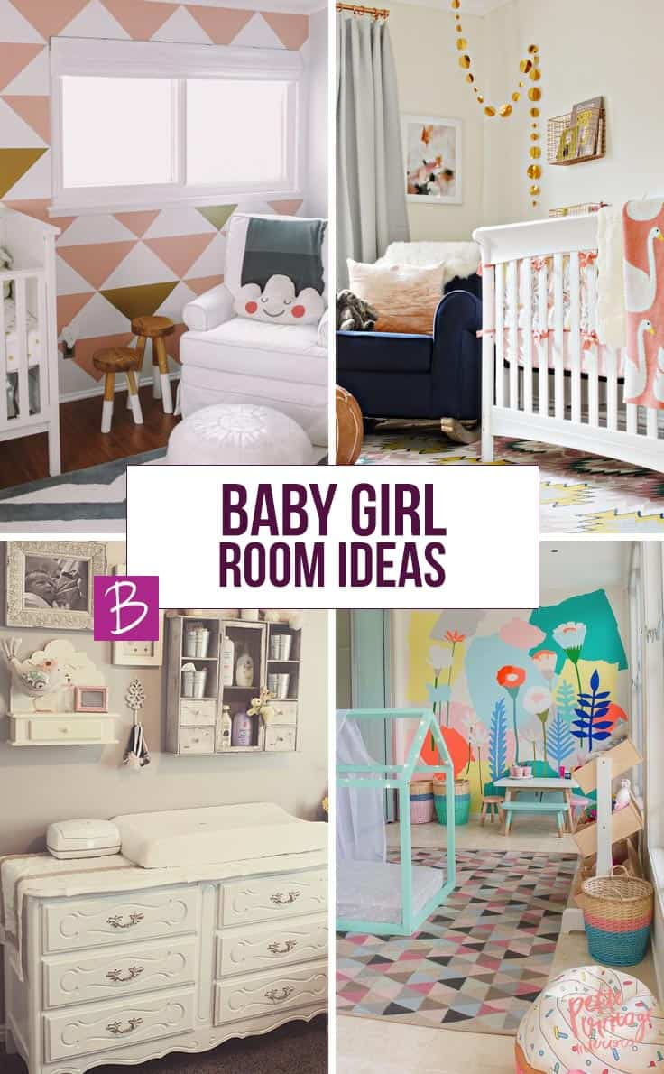 So many gorgeous baby girl room ideas!