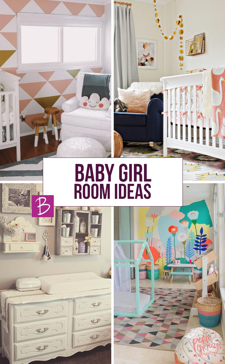 Did you just find out you were expecting a girl? Congratulations! I guess you found us because you've been searching for baby girl room ideas and we've got some beautiful nurseries to inspire you!