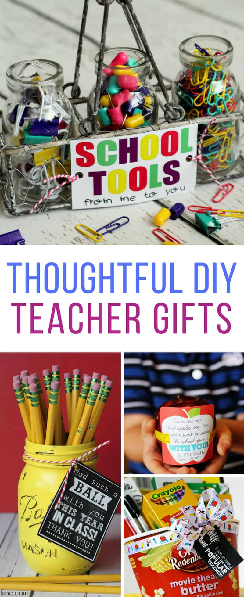 These Back to School DIY teacher gifts are perfect! Thanks for sharing!