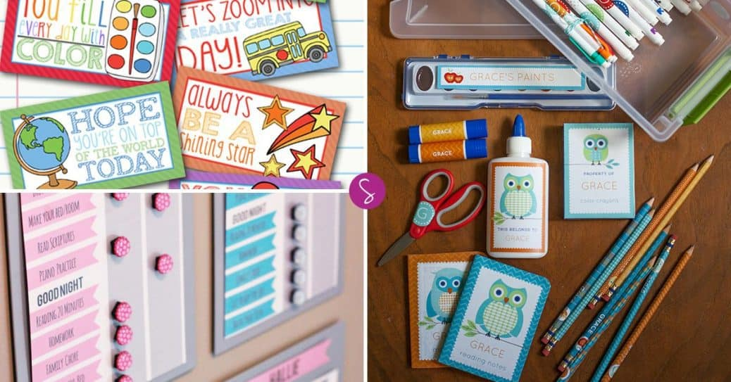 13 Free Back to School Printables to Make Life a Little Less Stressful!