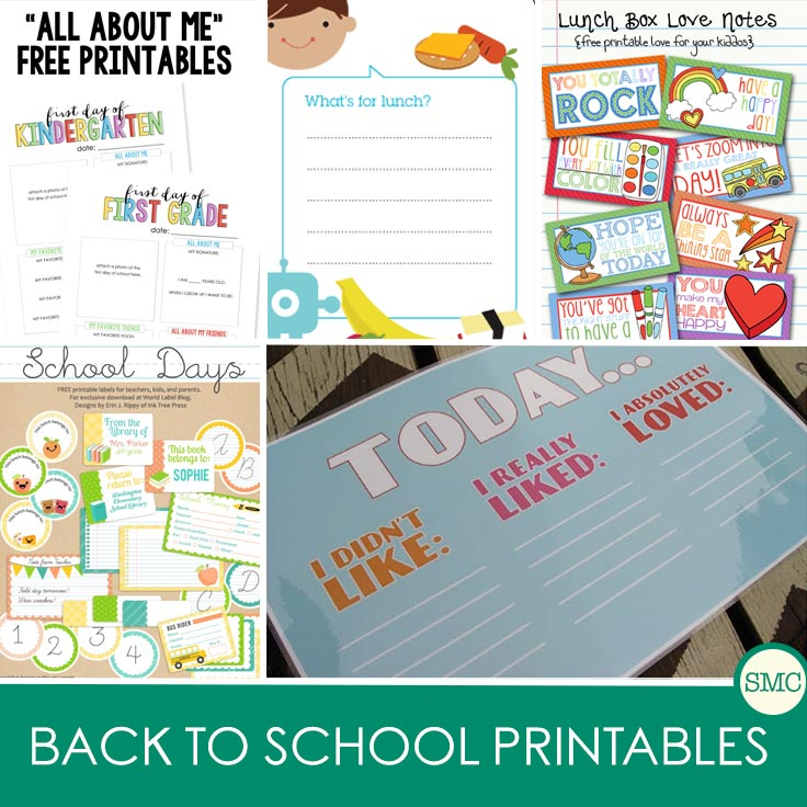 These free back to school printables are going to make life so much easier!
