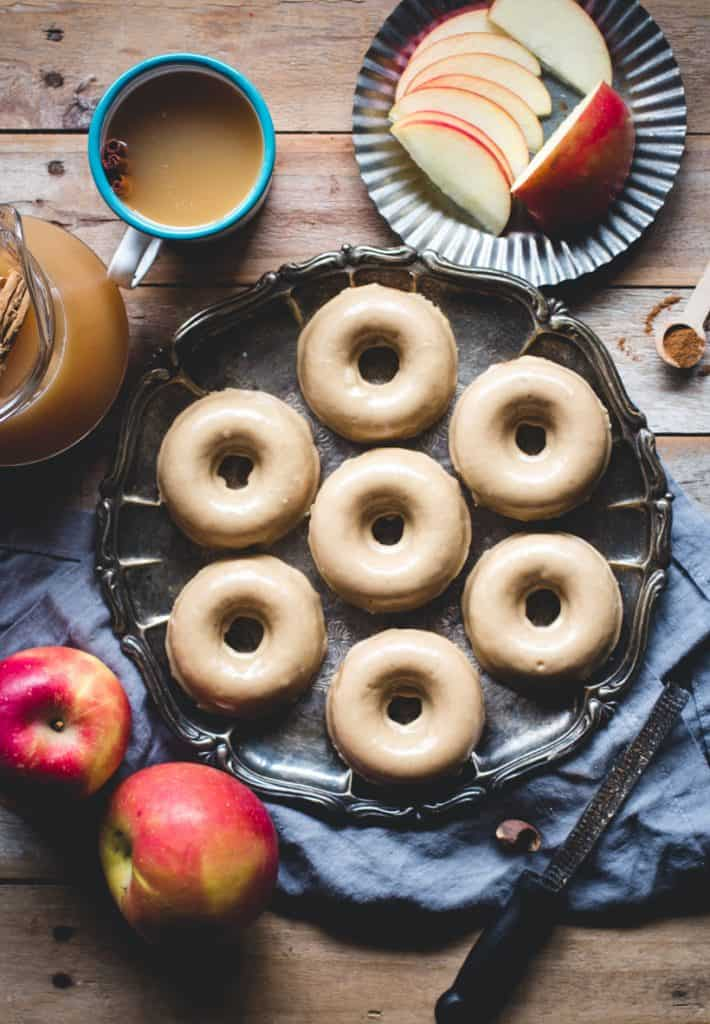 We love this baked apple donut recipe because it uses a delicious crispy sugar glaze which makes a nice change from the usual sprinkle of cinnamon sugar. They look - and taste - amazing!