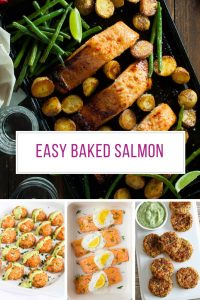 You can't beat a baked salmon! So many yummy recipes - Thanks for sharing!