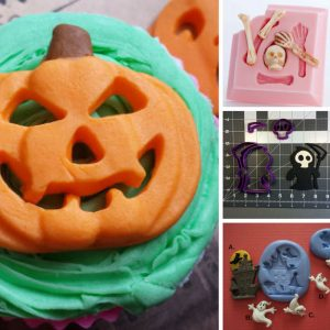Wow - these Halloween baking molds are brilliant! Can't wait to start baking treats!