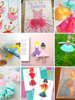 Ballerina Crafts for Kids