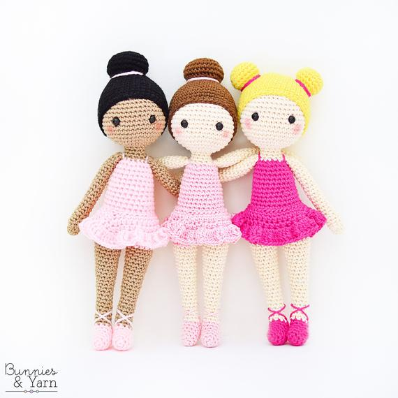 Tracey the Ballerina Amigurumi Doll Pattern