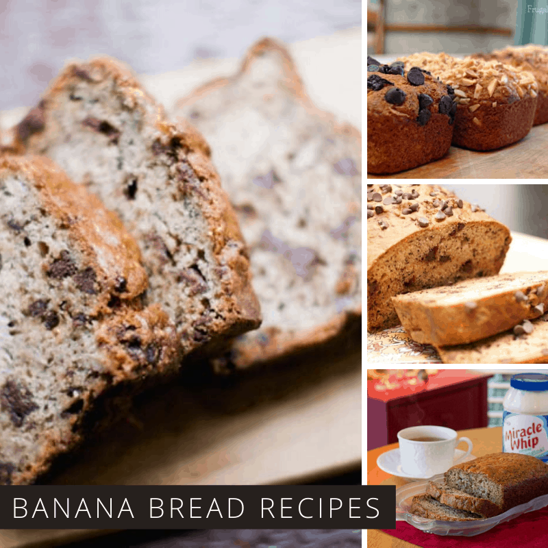 These Banana Bread Recipes are Easy to Make and Taste Delicious