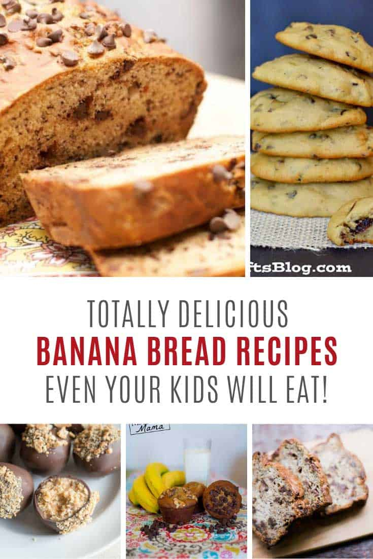 Don't throw away those old bananas! Try these banana bread recipes!