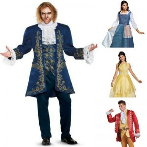 Loving these Beauty and the Beast Halloween costumes - the whole family will love fabulous!