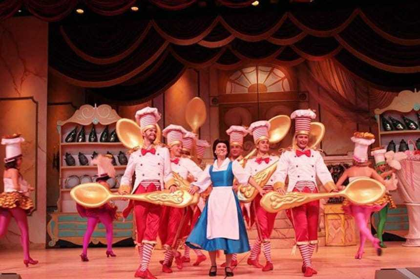 The Beauty and the Beast show is totally magical!