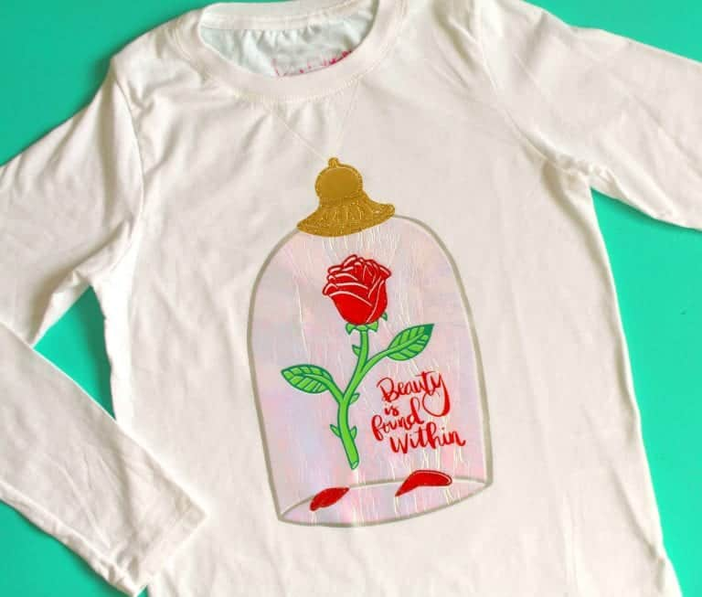 Beauty and the Beast DIY Shirt