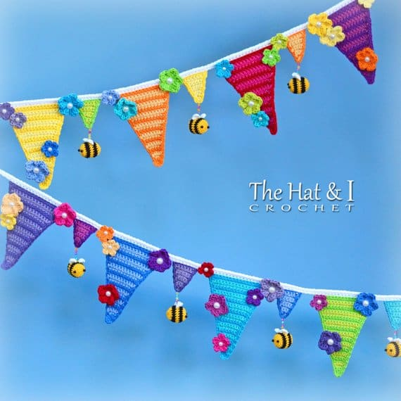 Bee Happy Bunting