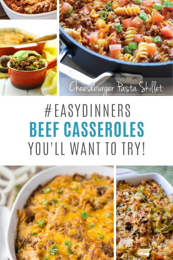 These beef casserole dinner recipes will become meal plan staples!
