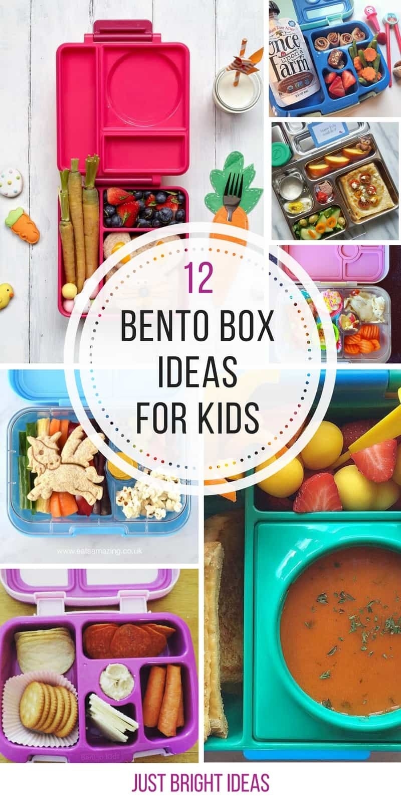 These Bento Box ideas for kids are brilliant!