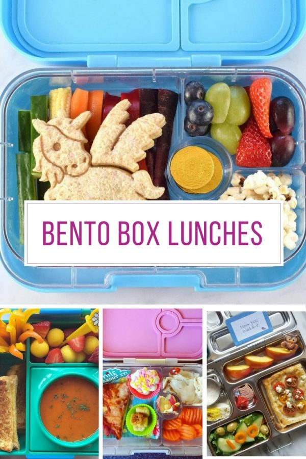 These Bento box lunches are amazing - need to try some!