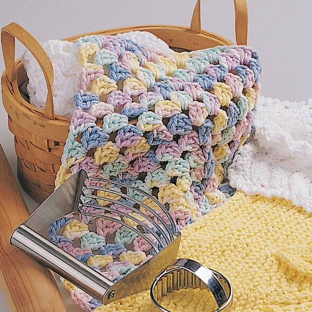 Bernat Granny Square Dishcloth