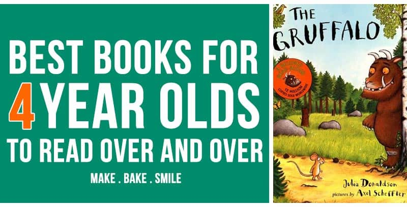 Best Books for Four Year Olds to Read Over and Over!