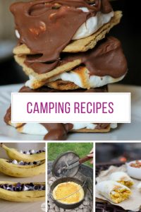 These camping recipes look delicious - thanks for sharing!
