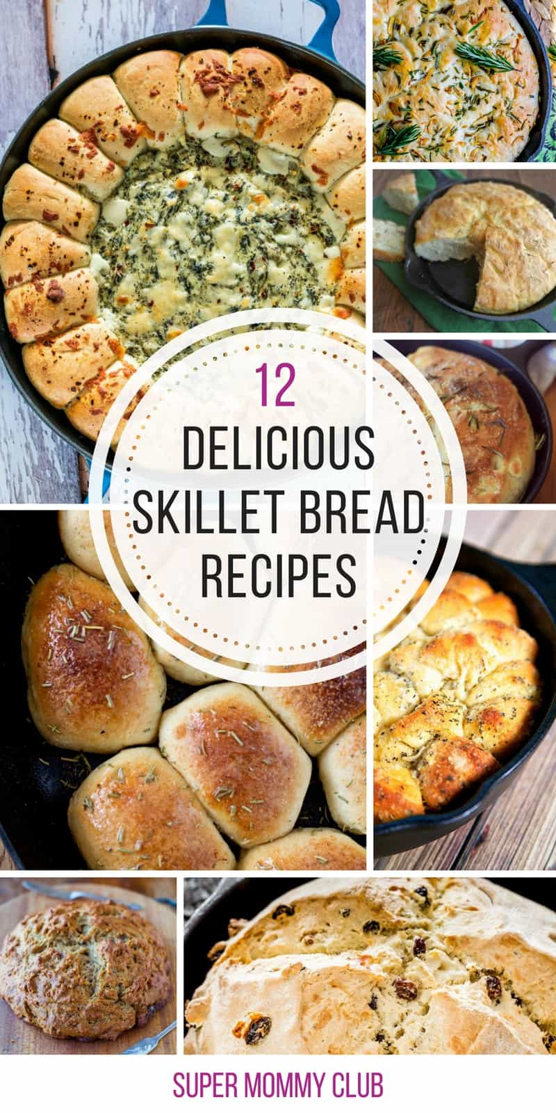 Oh these cast iron breads look AMAZING! Can't wait to try some in my skillet!
