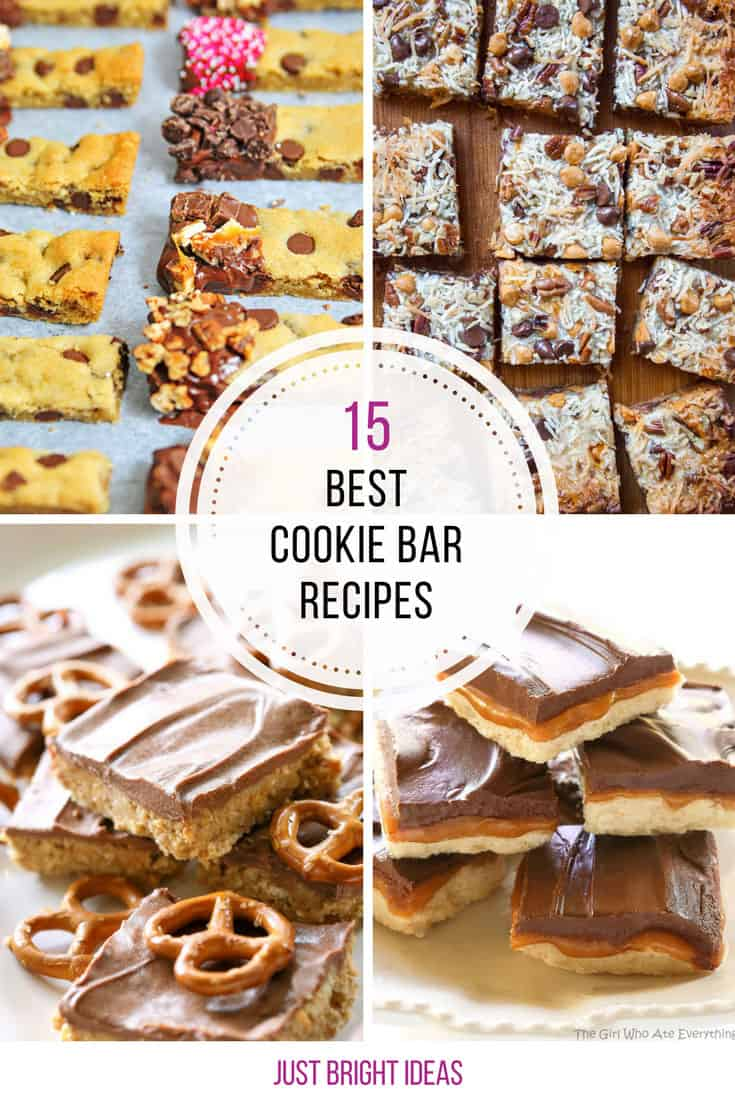 These are totally the best cookie bar recipes! Thanks for sharing!