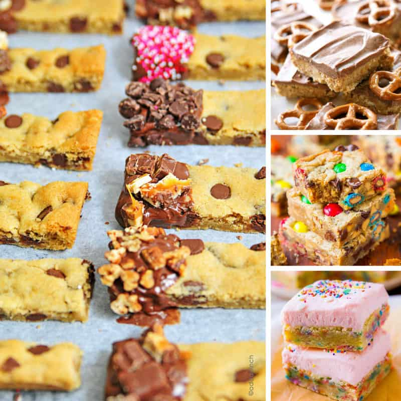These are the best cookie bar recipes! Thanks for sharing!