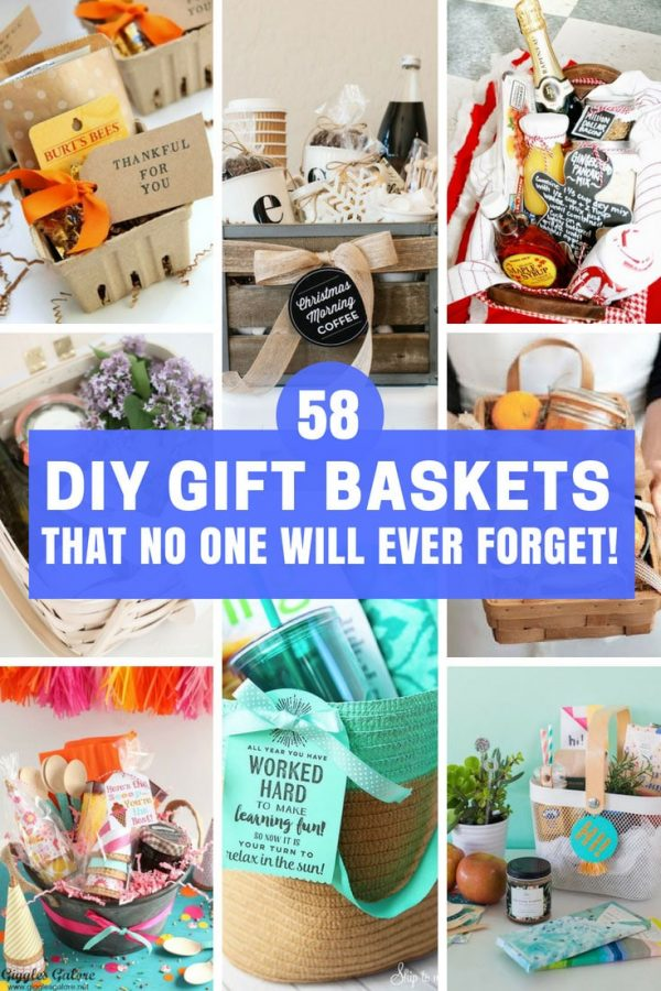 Best DIY Gift Baskets Ideas