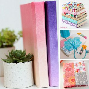 These DIY notebooks are gorgeous and so much cheaper than the store! Thanks for sharing!